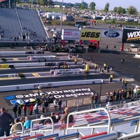 Photo taken at zMax Dragway by Holden S. on 4/20/2013