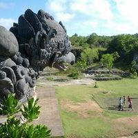 Photo taken at Garuda Wisnu Kencana (GWK) Cultural Park by Matthew M. on 3/19/2013