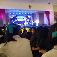 Photo taken at หอประชุมโรงเรียนฤทธิยะวรรณาลัย 2 by Atikom P. on 11/25/2013