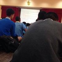 Photo taken at หอประชุมโรงเรียนฤทธิยะวรรณาลัย 2 by Atikom P. on 1/24/2014
