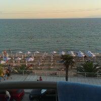 Photo taken at Aegean Blue by Aleksandra Ć. on 8/5/2013