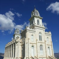 Photo taken at Manti Utah Temple by Andrew B. on 5/31/2013