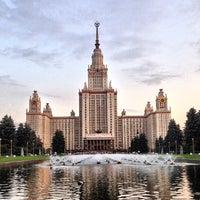 Photo taken at Lomonosov Moscow State University (MSU) by Forigner on 6/3/2013
