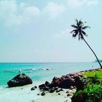 Photo taken at Sumur Tiga Beach by Maximus F. on 12/24/2016