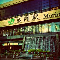 Photo taken at Morioka Station by cubrick on 11/4/2012