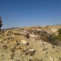 Photo taken at Pelitçik fosil ağaç jeositi by Özgür on 9/15/2013
