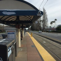 Photo taken at VTA Lightrail Tasman Station by Brian C. on 3/3/2017