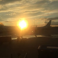 Photo taken at Gate A10 by Brian C. on 8/21/2016