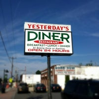 Photo taken at Yesterday's Diner by Warren C. on 7/27/2013