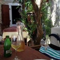 Photo taken at Konoba Mediterraneo by Svetlana on 7/28/2013