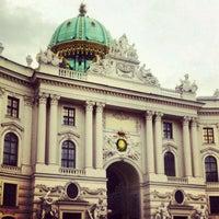 Снимок сделан в Хофбург пользователем Leonid 12/28/2012
