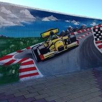 Снимок сделан в Набережная Олимпийского парка пользователем Julie 10/10/2014