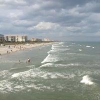 Photo taken at Cocoa Beach Pier by Marisstella M. on 3/23/2013