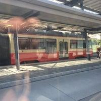 Photo taken at Bahnhof Esslingen by Dominic H. on 8/5/2013