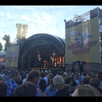 Photo taken at Openair Heitere by Dominic H. on 8/11/2016