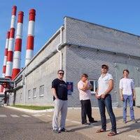 Photo taken at Заинская ГРЭС by Иван Т. on 7/16/2014