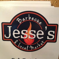 Photo taken at Jesse's Barbecue & Local Market by Debbie K. on 1/19/2013