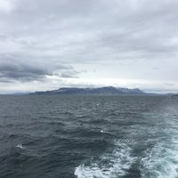 Photo taken at Elding Whale Watching by Mike B. on 5/30/2017