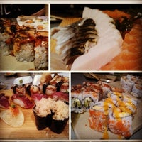 Photo taken at w Sushi by Shannon C. on 1/27/2013