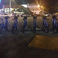 Photo taken at Citi Bike Station by Rodger T. on 7/6/2014