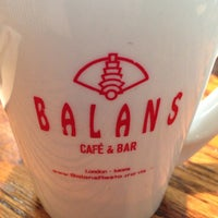 Photo taken at Balans Restaurant & Bar, Dadeland by Javier O. on 5/2/2014