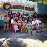 Photo taken at Beach View, Camayan Beach Resort by Jam B. on 3/22/2014