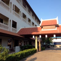 Photo taken at Amorn Sukhothai Hotel by Sorawit L. on 12/12/2014