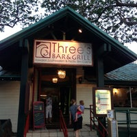 Photo taken at Three's Bar & Grill by Maui Hawaii on 5/30/2013