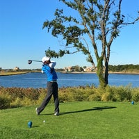 Photo taken at Marine Park Golf Course by Samuel S. on 9/25/2016
