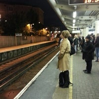 Photo taken at Feltham Railway Station (FEL) by Carlos P. on 10/26/2012