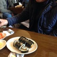 Photo taken at 명동할머니국수 by Jaesang H. on 11/18/2013