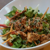 Photo taken at Super Salads by Deyes C. on 4/4/2013