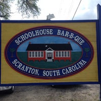 Photo taken at Schoolhouse BBQ by Jennifer B. on 4/13/2014