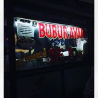 Photo taken at Bubur Ayam Special BEJO by Bowie D. on 6/12/2016