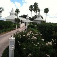 Photo taken at Disney's Wedding Pavilion by Robin F. on 10/4/2012