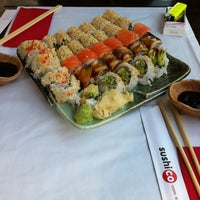 Photo taken at SushiCo by Sylwia D. on 10/27/2012