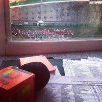 Photo taken at Estadio JOM UVM by Luis Manuel C. on 9/26/2014