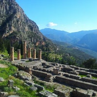 Photo taken at Temple of Apollo by Дундук К. on 1/4/2013