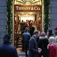 Photo taken at Tiffany & Co. by Diego P. on 12/16/2012