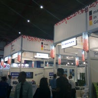 Photo taken at JIExpo Hall A by Poh B. on 9/7/2016