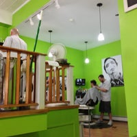 Photo taken at Razors Barbershop & Shave by Brad K. on 7/5/2013