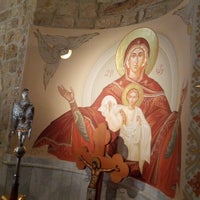 Photo taken at Saydet El Zalzale Church by Tony A. on 9/16/2012