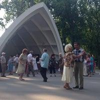 Photo taken at РетроПарк by Marina S. on 6/8/2014