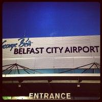 Photo taken at George Best Belfast City Airport (BHD) by Oleg Z. on 1/11/2013