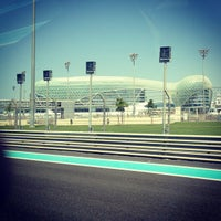 Photo taken at Yas Marina Circuit by Oleg Z. on 10/1/2012