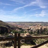 Photo taken at Mirador del castillo by Azize A. on 8/10/2014