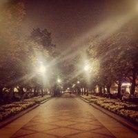 Снимок сделан в Никитский бульвар пользователем И З. 9/15/2012