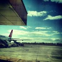 Photo taken at Van Ferit Melen Airport (VAN) by Bahadır K. on 3/29/2013