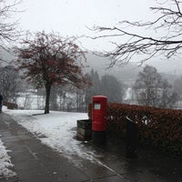 Photo taken at University of Stirling by ZagT W. on 1/21/2013