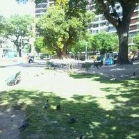 Photo taken at Parque Rivadavia by Ariel B. on 10/26/2012